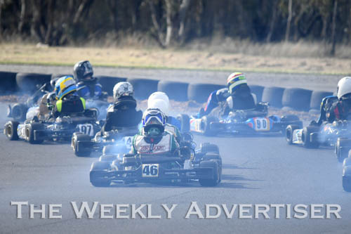 Image - Round four of the Victorian Country Series at Wimmera Kart Club  at Dooen.